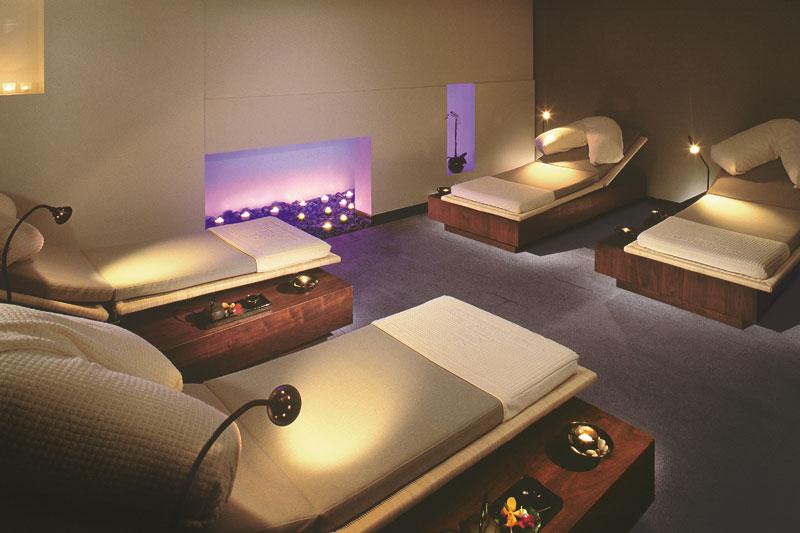 Relax room en el Mandarin Oriental Hotel de Londres. (clickear en la imagen para agrandar)