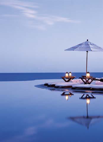 La espectacular vista del spa Las Ventanas al Paraíso, en México. (clickear en la imagen para agrandar)