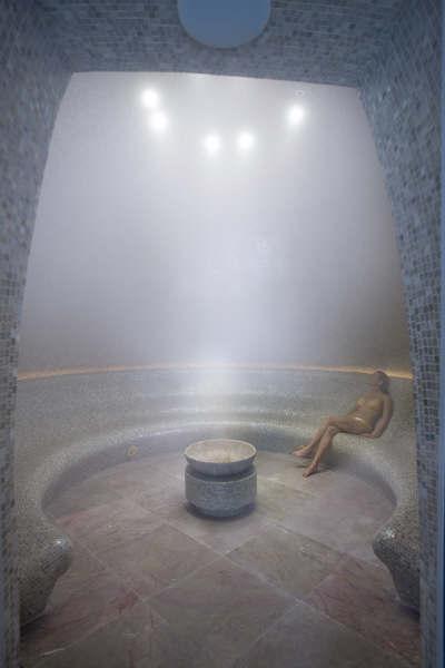 El sauna es uno de los tratamientos clásicos en muchos spa. (clickear en la imagen para agrandar)