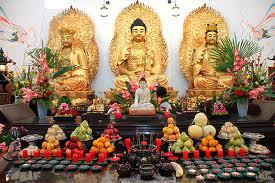 Templo Budista en barrio chino de Bs.As.