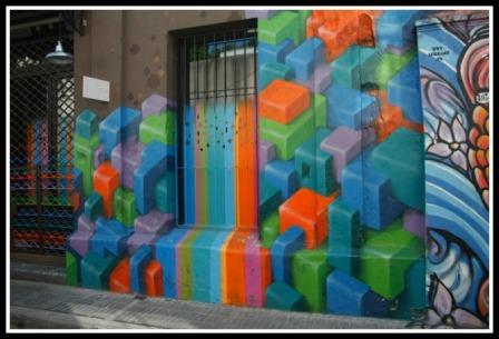 Street art en Palermo, Ciudad de Buenos Aires - Argentina