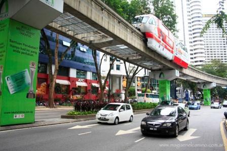 Monoriel en Kuala Lumpur