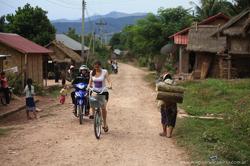 Una vuelta en bicicleta por los alrededores de Luan Nam Tha