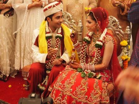 Ceremonia de boda en India