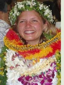 Collares típicos en bodas en Hawaii