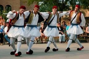 Danza e casamiento griego