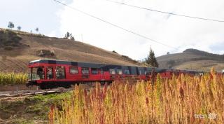 Ecuador de punta a punta, en tren