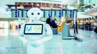 Lufhtansa prueba un Robot que dialoga con los pasajeros