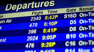 ¿Cómo verificar los horarios de salida o llegada de los distintos medios de transporte?